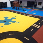 Wetpour Flooring in East Dunbartonshire 5