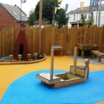 Play Area Safe Surface in North Lanarkshire 1