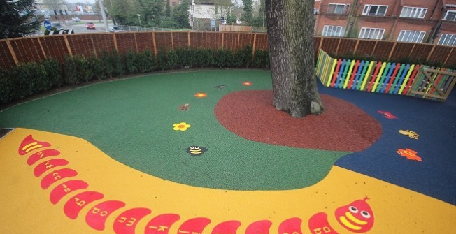 Wet Pour Rubber Flooring in West Midlands