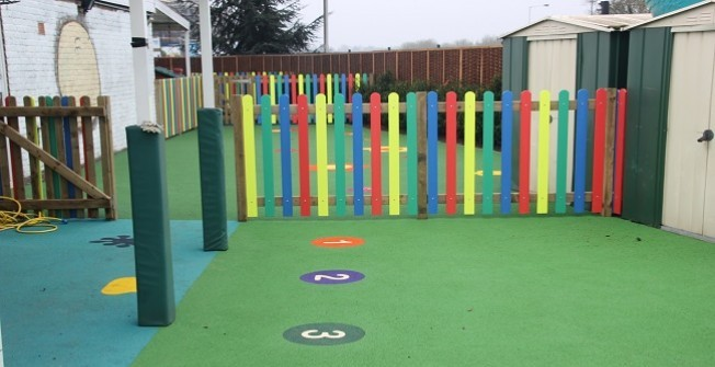 Wetpour Surfaces in East Dunbartonshire